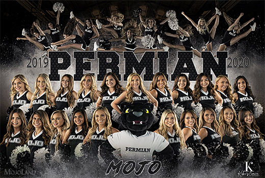 2019 mojo cheerleaders
